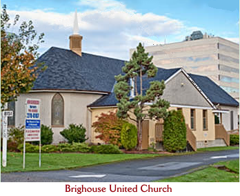 Brighouse United Church Logo