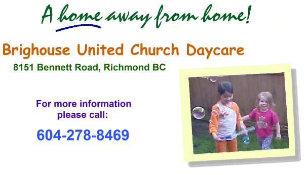 Brighouse United Church Daycare Home